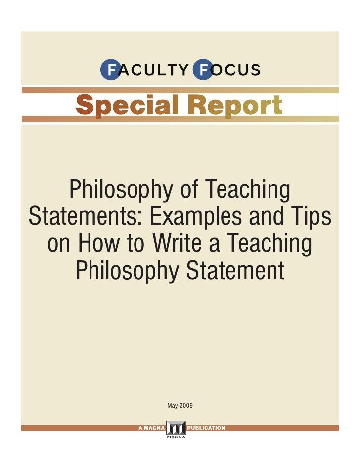 Faculty Focus Special Report 052110
