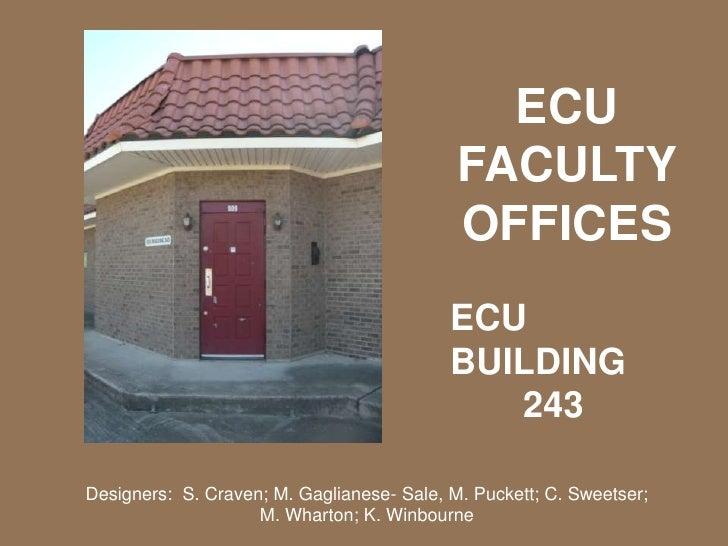 Faculty office presentation