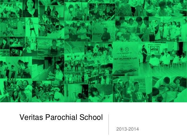 Veritas Parochial School2013-2014