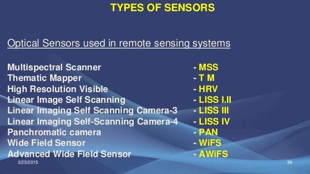 Multispectral Scanner System Multispectral Scanner