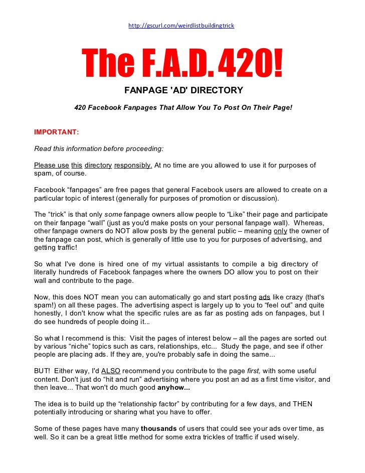 The F.A.D.420!