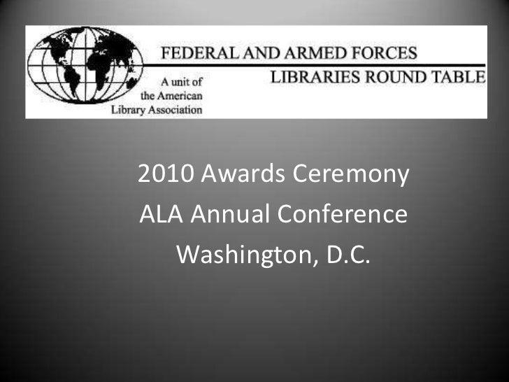 Faflrt awards