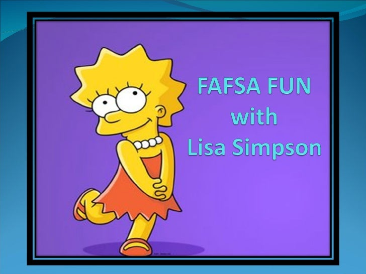 FAFSA OTW Fun with Lisa Simpson