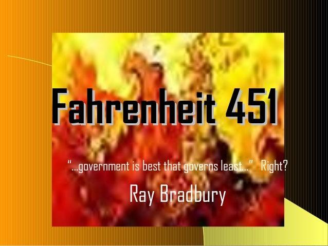 Fahrenheit 451 Test Notes