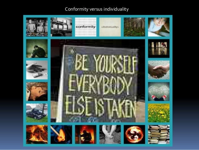 the book thief individuality vs conformity Leaf thief our public is individuality the new conformity toronto writer hal niedzviecki said it best in his book, hello, i'm special-individuality is the.