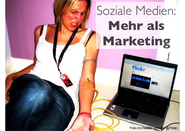 Foto (cc) Natalie Johnson @ Flickr Soziale Medien: Mehr als Marketing
