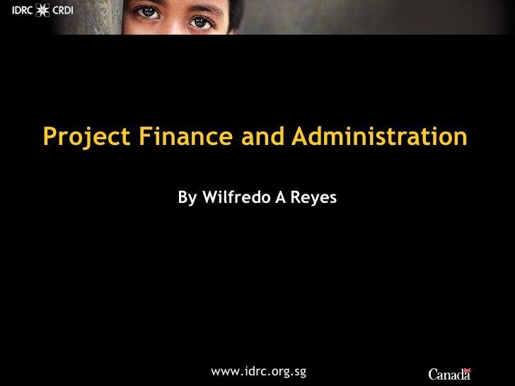 F & A Idrc Willy Reyes