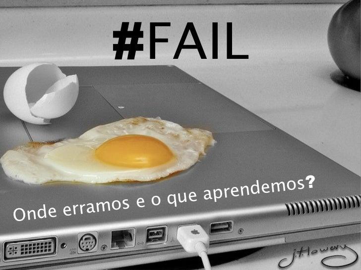 #FAIL                                       aprende mos?                 mos e o que      Ond e erraterça-feira, 13 de set...