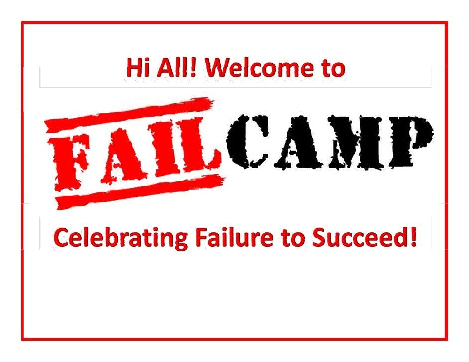 FailCamp