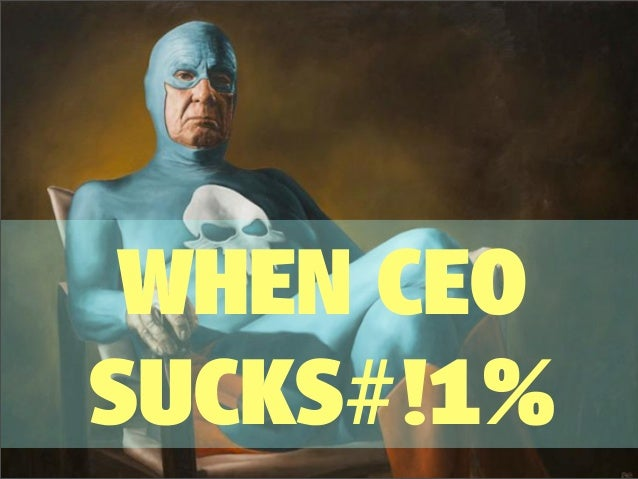 When CEO fails