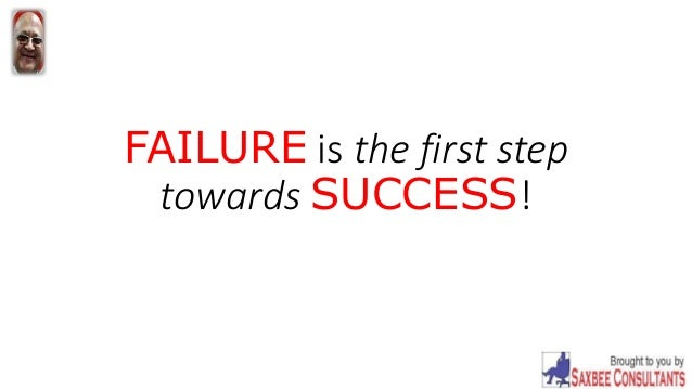 essay on failure is the mother of success Great articles on success and failure -- the best success articles and failure articles tetw essays about life 10 great articles & essays about success and failure.