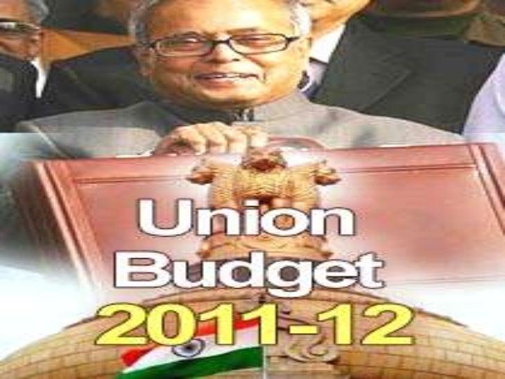 Fainal budget 2011 ppt