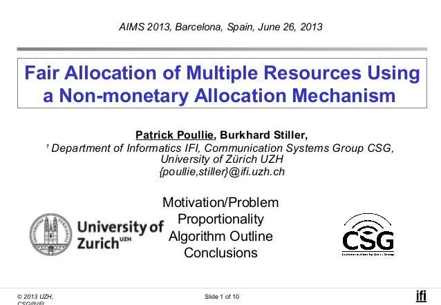 Fair allocation aims13_pp upload