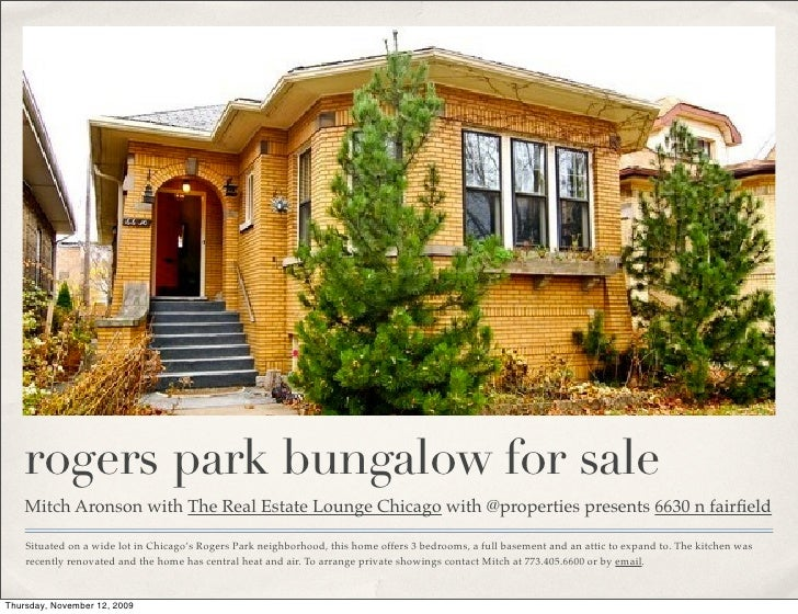 Chicago bungalow for sale with the real estate lounge chicago