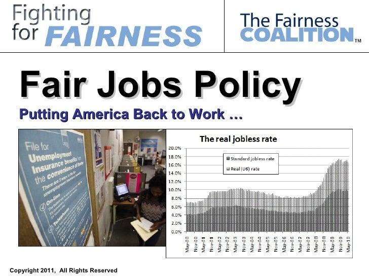 Fair Jobs Policy