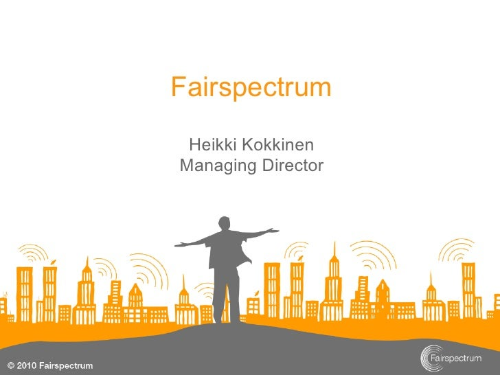 Fairspectrum Heikki KokkinenManaging Director