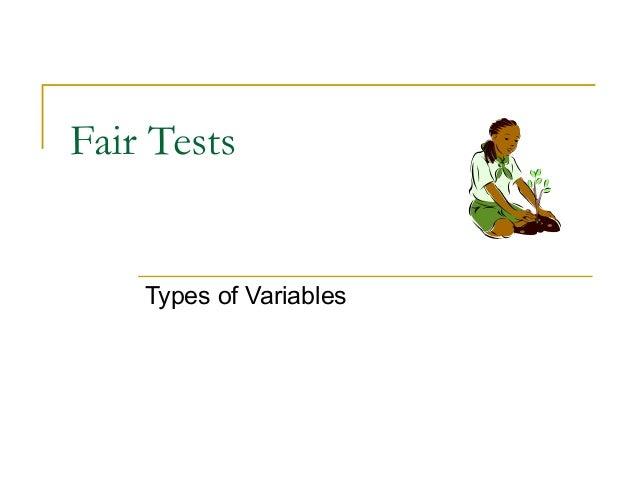 Fair tests