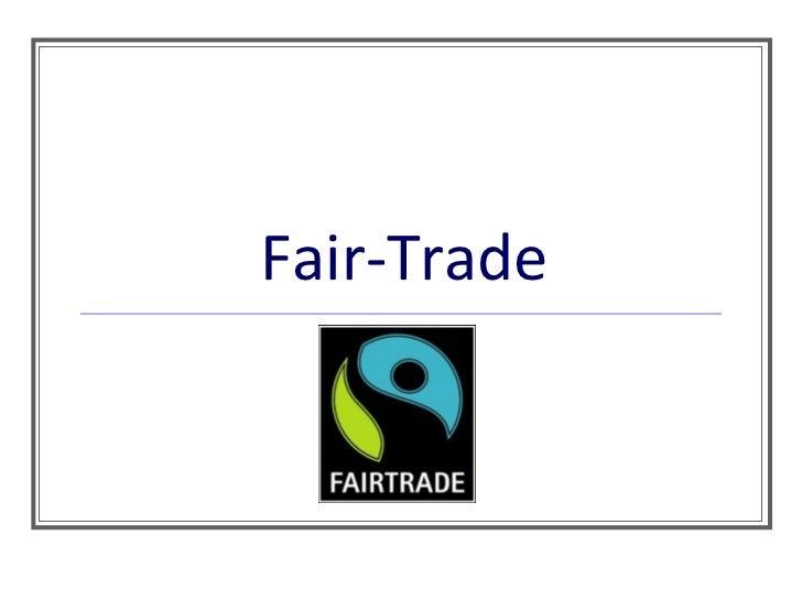 Fair Trade powerpoint