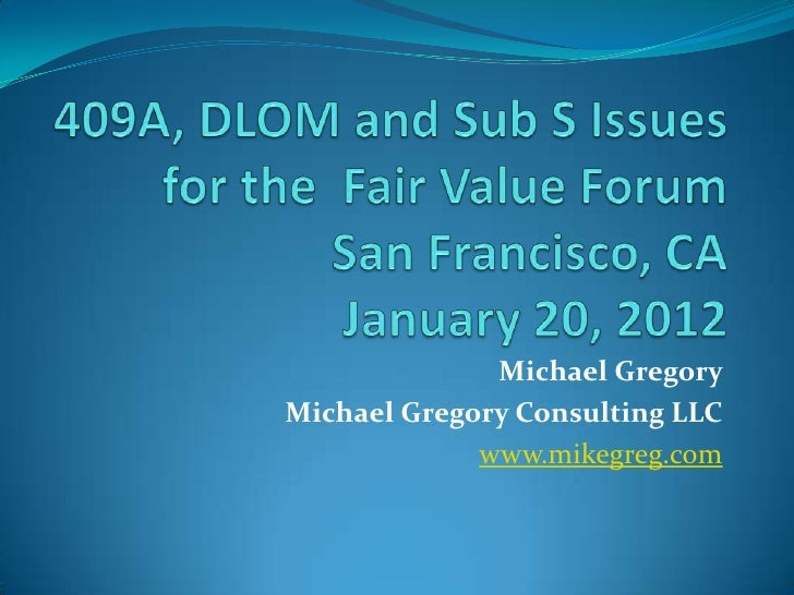 Fair value forum 8 am  1 20-2012