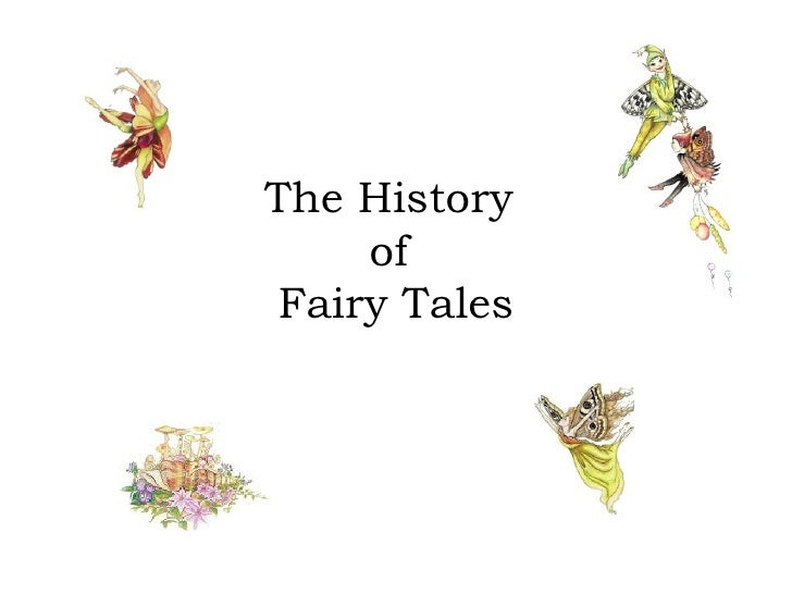 The History  of  Fairy Tales