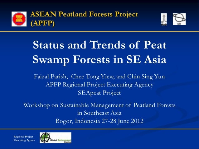 Status and Trends of Peat Swamp Forests in SE Asia