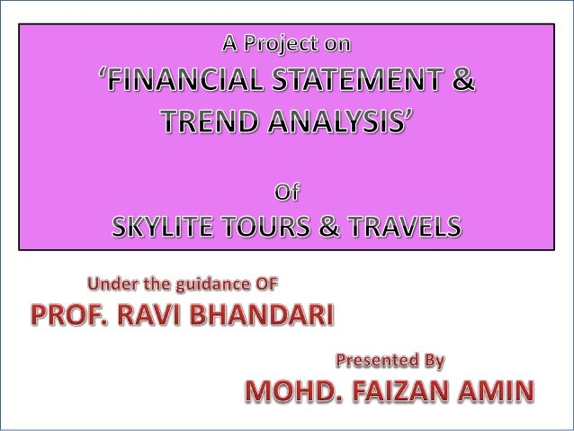 trend analysis of financial statements pdf