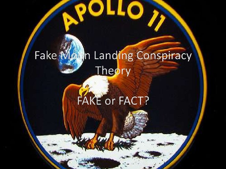 Fake Moon Landing Conspiracy Theory