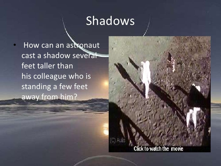 moon landing conspiracy shadows - photo #7