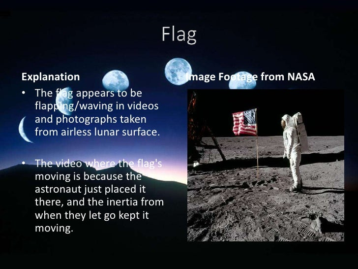 moon landing hoax flag - photo #25