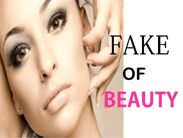 Fake of beauty a.k.a cosmetic surgery