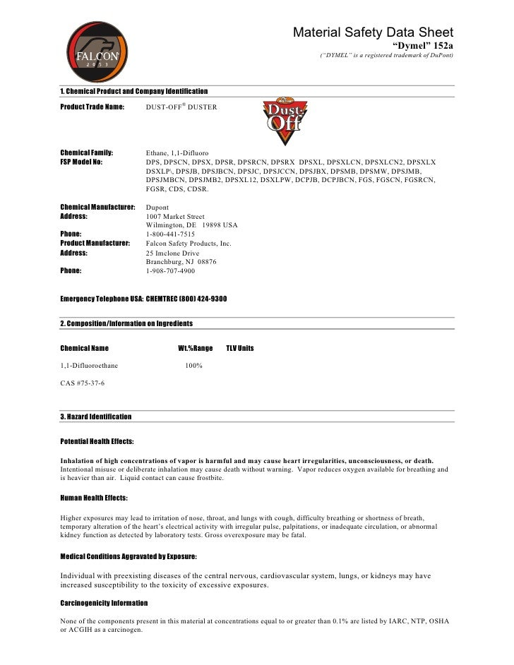 Material Safety Data Sheet                                                                                                ...