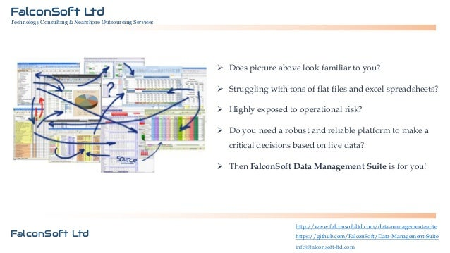 FalconSoft Ltd Technology Consulting & Nearshore Outsourcing Services  Does picture above look familiar to you?  Struggl...