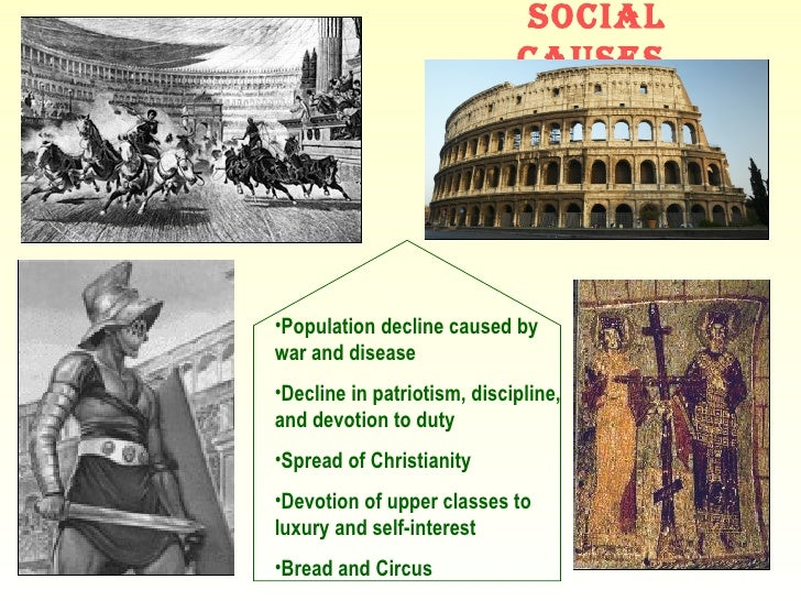 What caused the fall of the western roman empire essays