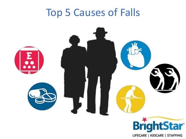 Top 5 Causes of Falls