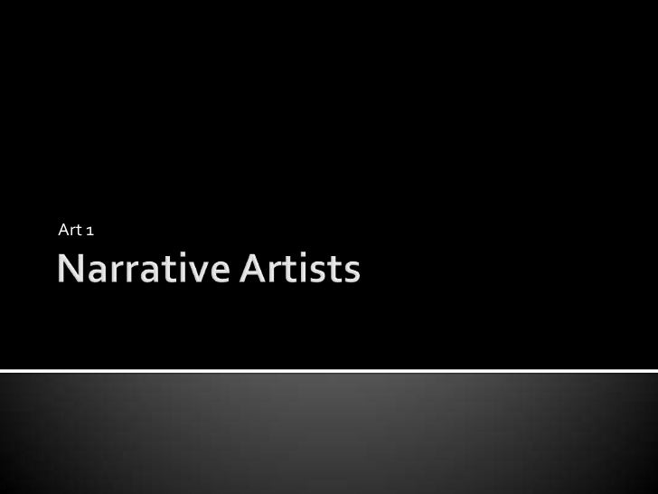 Fall 2011 art 1 narrative portrait project artists