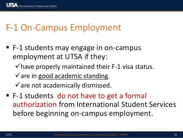 Do international students on F-1 visas have to have 6 hours on campus?