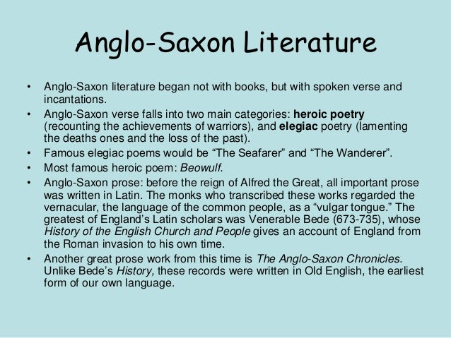 anglo saxan notes on beowulf Beowulf, the anglo-saxon poem that is commonly taught in high school beowulf, old english, and anglo-saxon culture each script comes with a teacher guide featuring a summary, recall questions.