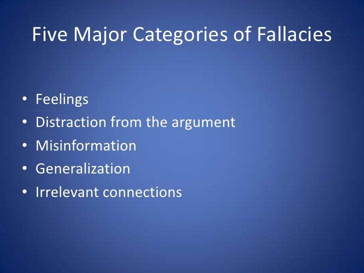 Major writing help needed!,fallacies?