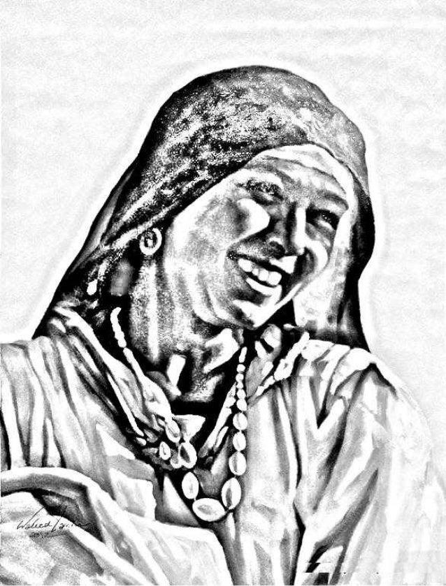 The Egyptian female farmer (Fallaha)