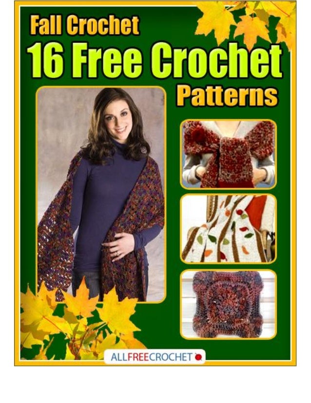 Fall Crochet: 16 Free Crochet Patterns