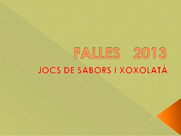 Falles   2013
