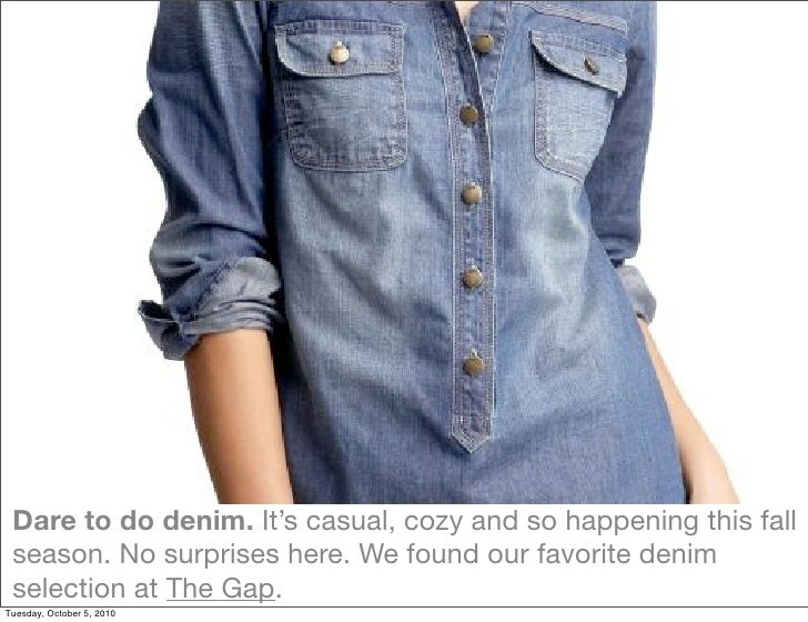 Dare to do denim. It's casual, cozy and so happening this fall  season. No surprises here. We found our favorite denim  se...