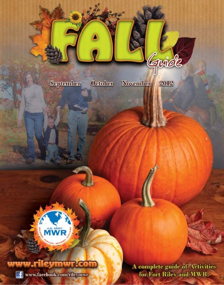 Ft Riley MWR's Fall Guide 2012