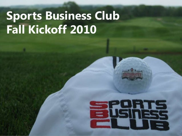 Sports Business Club Fall Kickoff 2010
