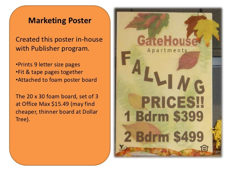 Poster board from dollar tree