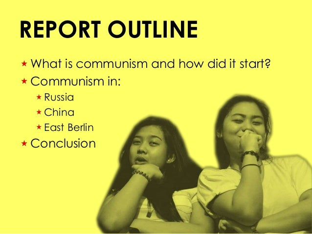 What is a strong statement about communism i can use in my conclusion?