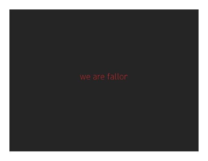 Fallon Brainfood x MNAMA: Being Digital