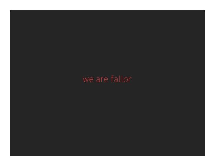 Fallon Brainfood: SX35W