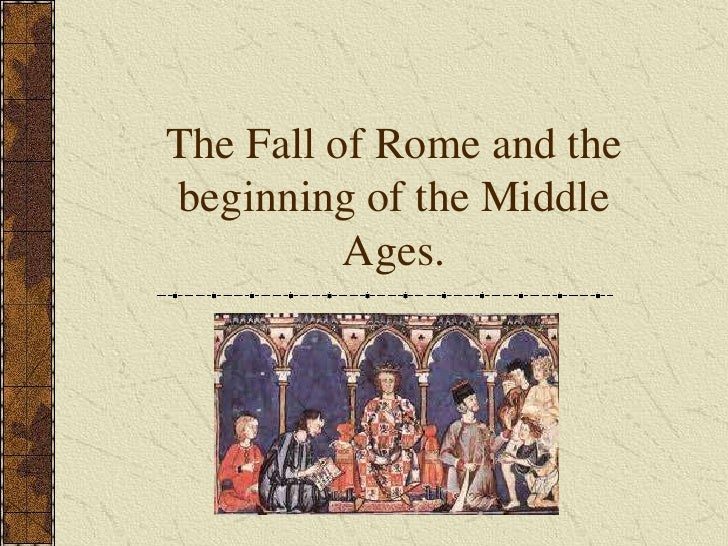 the fall of rome 2 essay
