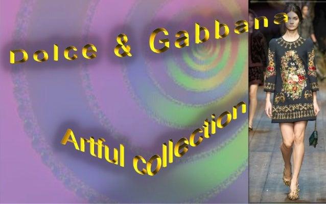 Dolce&Gabbana Fall winter 2014 - 2015,  A luxurious collection